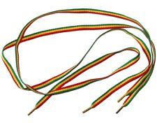 Paire de lacets rasta jamaïcain Longueur 90cm  - Rasta jamaican shoe laces