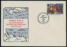 Great Britain 1220 on WWII D-Day cachet Cover - Spanish Armada