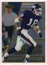 1996 Bowman's Best Amani Toomer  Rookie Card