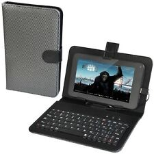 Black iDream USB Keyboard and Leather Case Stand Bag Cover