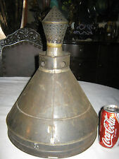 Antique Country Primitive Fower Garden Art Fineal Grape Wine Press Funnel Tool
