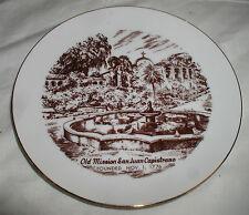 "OLD MISSION SAN JUAN CAPISTRANO PLATE  7 3/4""  (ROYAL ANN)"