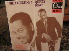 "Billy Eckstine & Quincy Jones, ""At Basin Street East"" (UK Vinyl LP-SFL 13039)"