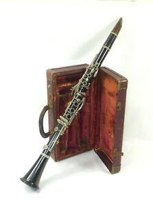 Old Clarinet IN Case D.Bonade