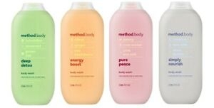 Method Body  Shower Gel Body Wash Various Scents Flavours 532ml