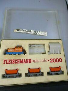 N Scale Fleischmann Picolo 2000 Ore Car Set