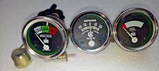 Temperature Amp Oil Gauge Set for Farmall IH H, M,W4-9 T6 IHC 1939 - 1946