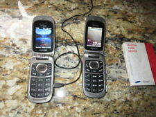 2 Samsung Working Cell phones Convoy 2 (Originally Worked with Verizon)