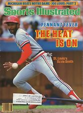 Ozzie Smith--1985 Sports Illustrated--St Louis Cardinals