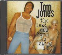 TOM JONES / THE LEAD AND HOW TO SWING IT * NEW CD 1994 * NEU *