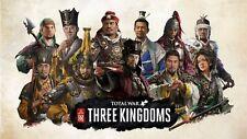 Total War: THREE KINGDOMS PC Steam key, No disc/box