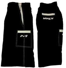 Miken Microfiber Shorts BLACK/WHITE 3XL