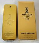 Paco Rabanne 1 Million 3.4oz / 100ml Mens Eau de Toilette Spray New