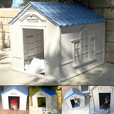 Dog House Outdoor Indoor Extra Large Breed Weatherproof Durable Outside Home New