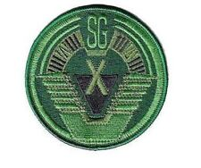 Stargate SGX ecusson équipe SGX  camo scratch SGX olive drab patch hook loop