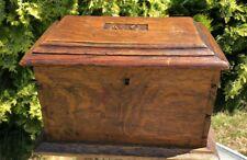 Beautiful Antique Vintage Wooden Box *
