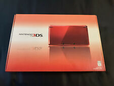 Nintendo 3DS CTR-001 Launch Edition Handheld System Flame Red NEW SEALED MINT!