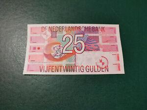 Netherlands Banknote 25 Gulden 1989 !!!!!!