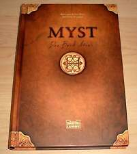 MYST - Das Buch Atrus - Rand Miller & David Wingrove - Gebunden - neuwertig