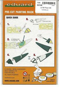 Eduard Ju-188 Tface Masques pour Le Revell Kit En 1/48 Ex 746 Do St