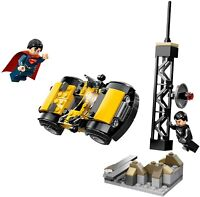 LEGO DC Heroes 76002 Superman: Metropolis Showdown 100% Complete w/Manual & Figs