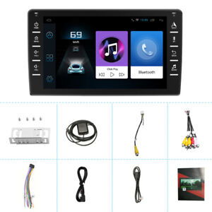 "HD 8""Car MP5 Android Navigation Reversing Video Drive Recorder Player WIFI USB"