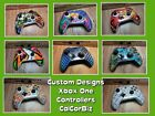 Microsoft Xbox One Wireless Controller S/X Custom Designs Red/Blue/White/Yellow