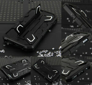 Heavy Duty Shockproof Bumper Defender Protective Stand Case for iPhone 6