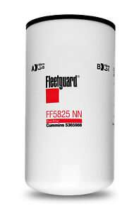 New and Genuine Fleetguard FF5825NN Fuel Filter NanoNet X15 Cummins