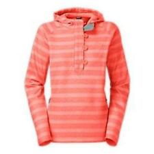 THE NORTH FACE~$99.00~CORAL~STRIPED *CRESCENT SUNSET HOODY* SWEATER PULLOVER~M