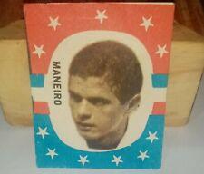 collectible card of the Great Uruguayan footballer Ildo Maneiro