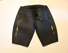 Roka Men's Sim Pro II Triathlon Buoyancy Shorts AB3 Black/Acid Lime Size XL