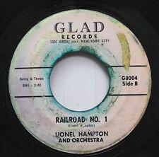 Hear! R&B 45 Lionel Hampton - Railroad No. 1 / Sometimes I'M Happy On Glad