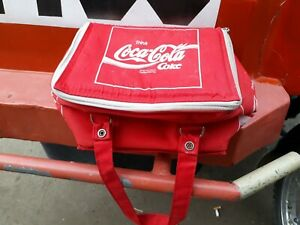 Vintage Trink Coca Cola Coke Lunch bag from germany (RARE)