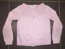 PUMPKIN PATCH Girls Size 4 Pink Cardigan Jumper EUC - Like New!