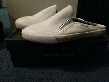 Womens Tommy Hilfiger Boat Shoes Frank3 Slip In 8 5 White
