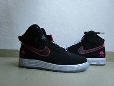 """Nike Air Lunar Force 1 Mid Hyperfuse QS 45.5 """"NYC"""" Black/Pink Foil"""