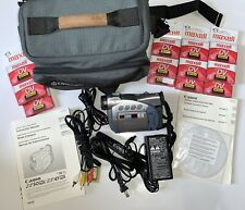 Canon Zr 45 Mc With 16 New Maxell Mini Dv And Carrying Case