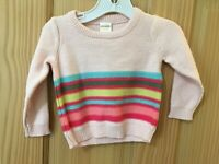 NEW Gymboree Striped Sweater Pullover Long Sleeve Outlet girls baby toddler