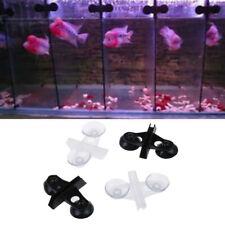 5pcs Aquarium Fis 00006000 h Tank Divider Suction Cup Divider Plastic Sheet Holder SetF Se