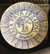 EALA FRYA FRESENA FRISE ORIENTALE BLASON GRAND PLAT 1955 DUIST