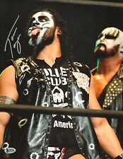Tama Tonga Signed 11x14 Photo BAS COA New Japan Pro Wrestling Bullet Club NJPW 2