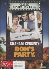 Don's Party (DVD, 2007) Graham Kennedy  AUSTRALIAN MOVIE NEW AND SEALED