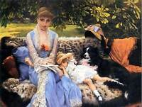JAMES TISSOT SILENCE OLD MASTER ART PAINTING PRINT POSTER REPRODUCTION 1480OM