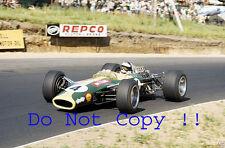 Jim Clark Lotus 49 Winner South African Grand Prix 1968 Photograph 1