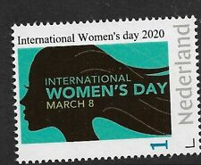 Nederland  2020   International women's day       postfris/mnh