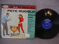 Pete Rugolo & His Orchestra, Percussion At Work, Mercury SR 80003, 1958, Jazz