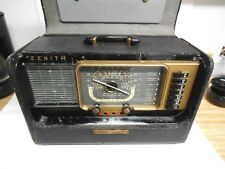 Zenith Transoceanic Radio, H500, Chassis 5H40, Parts or Repair, Complete