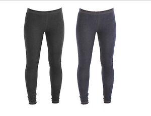 New Womens Full Length Plain Denim Stretch Jeggings Plus Size 16 18 20 22 26 28