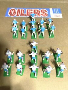 Tudor  Electric Football Houston Oilers in white and dark